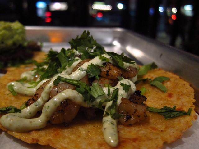 Shrimp Taco, at Otto's Taco