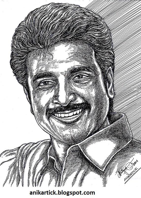 Sivakarthikeyan Actor Tamil Actor Portrait Pen Dra Flickr