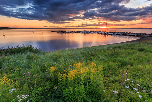 sunset flower water grass norway clouds marina boats moss rocks breakwaters ef1740mm fuglevik canon6d bentvelling