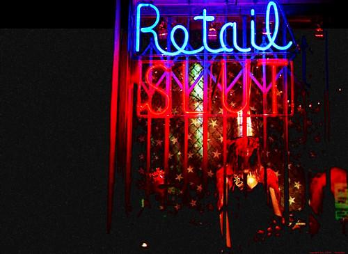 RETAIL SLUT - CARRIE Window, Melrose, LA