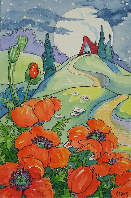 A Poppy Moon Storybook Cottage Series