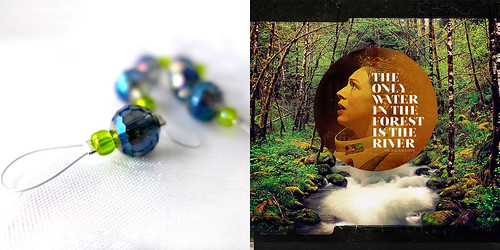 The Only Water in the Forest is the River - Exchanging Fire Stitch Markers