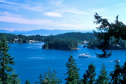 Pender Harbour, Sechelt Peninsula, Sunshine Coast, British Columbia, Canada