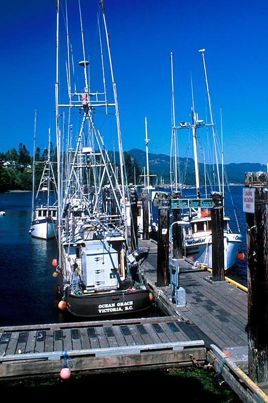 Sooke Marina, Sooke, Vancouver Island, British Columbia, Canada