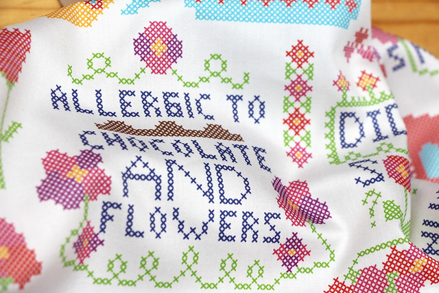 Anti-Valentine's Day Cross Stitch Design Challenge Top Ten: Happily Ever After by christinewitte