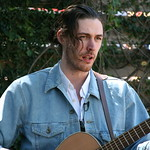 Thu, 13/03/2014 - 2:41pm - Hozier comes by the Hotel San Jose for a video session with WFUV. Photo by Laura Fedele