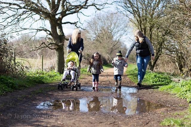 Family walk along The Causeway - IMG_3210