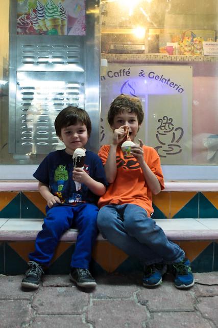 2 frères et la gelato