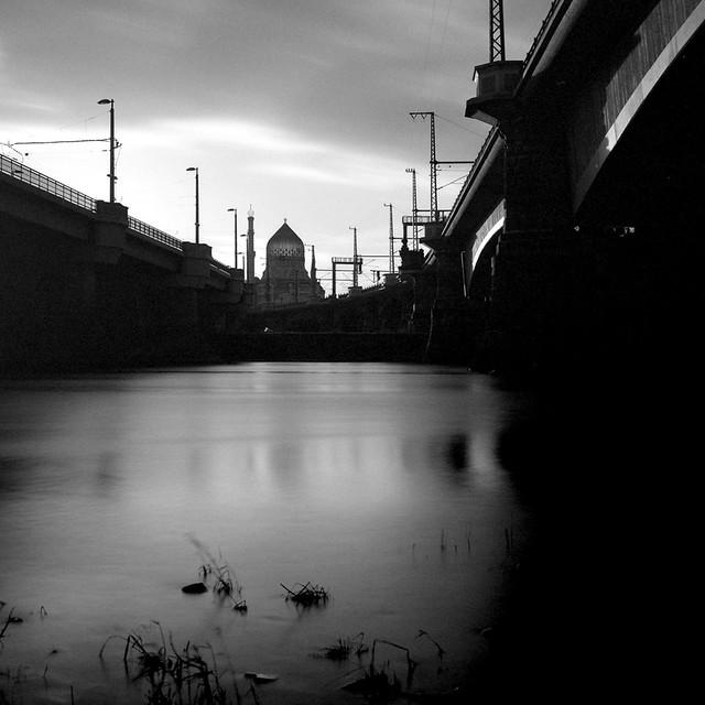 between bridges