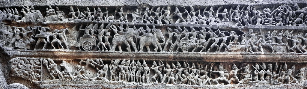India - Maharashtra - Ellora Caves - Kailasa Temple - Epis…   Flickr