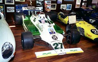 1994 - Alan Jones' 1980 Championship winning Williams FW07 F1 car, on display at the motor museum, York, Western Australia