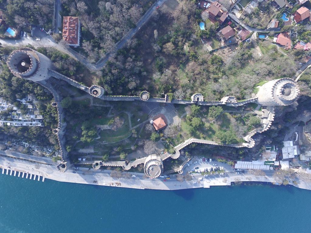 Rumelihisarı from the air