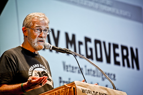 Ray McGovern; Emergency Forum at Cooper Union