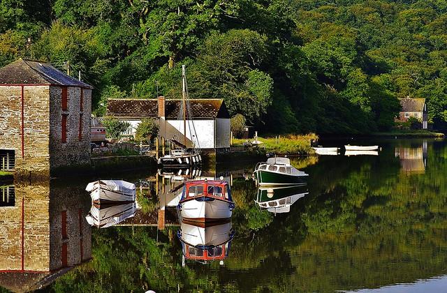 Lerryn of St Winnows and St Veep. Memories of Cornwall 2013