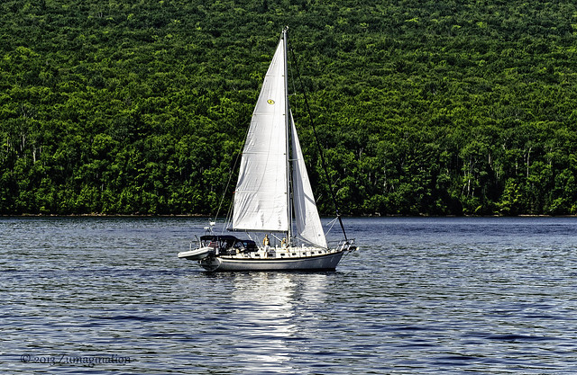 Apostle Islands Sailboat