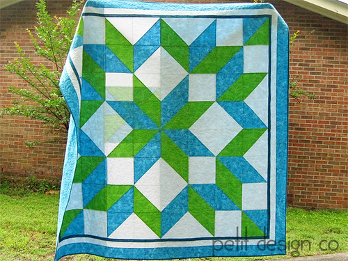 Carpenter's Star Quilt | by Petit Design Co.