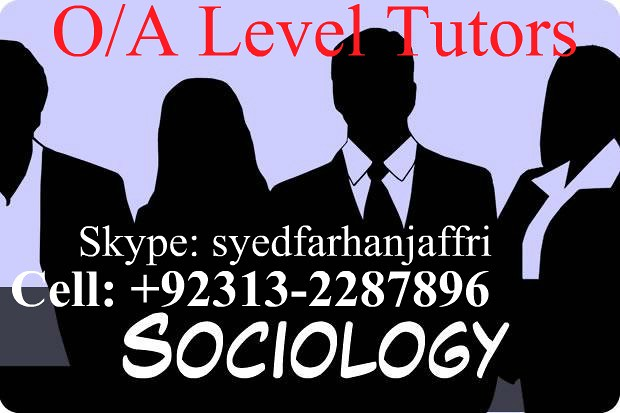 sociology olevel, karachi, academy, tutor, tuition, teaching, alevel sociology, sociology tuition