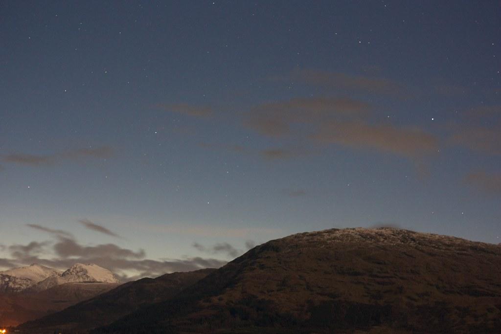 Stars over Ballachulish