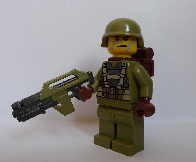 Scifi Jungle Trooper