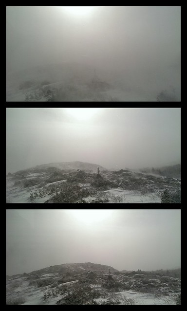 Varying degrees of visibility today