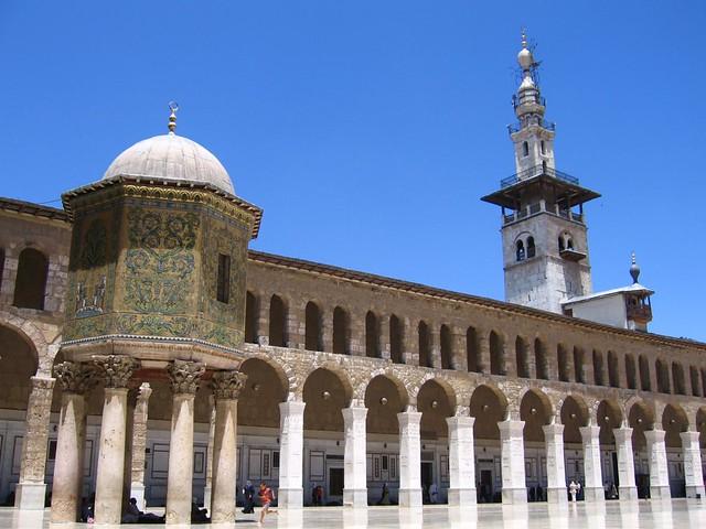 Mezquita omeya de Damasco (Siria)
