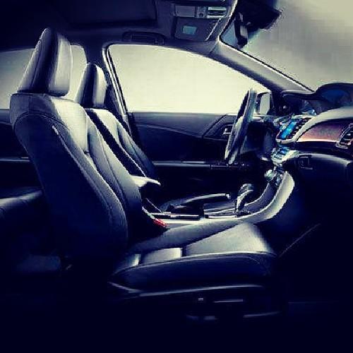 Luxurious interior of the 2014 #honda #accord! Photo