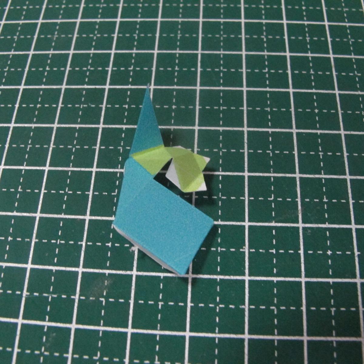 วิธีทำของเล่นโมเดลกระดาษรูปนก (Bird Paper craft ) 008