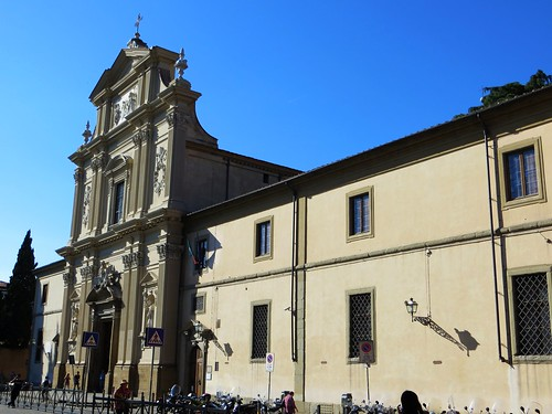 The Chiesa di San Marco and its adjoining monastery, Firenze