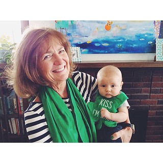 Thanks for the visit Grandma Mary! #irish #stpatricksday | by anne ingman