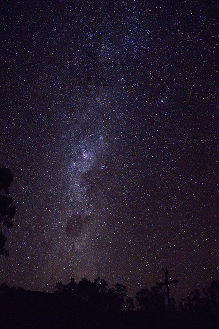 Photographic experiments n.1: the Milky Way