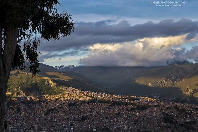 La Paz, ladera este