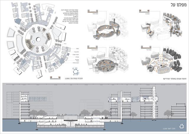 פרוייקט גמר באדריכלות   התפתחות על   ראם מאיר