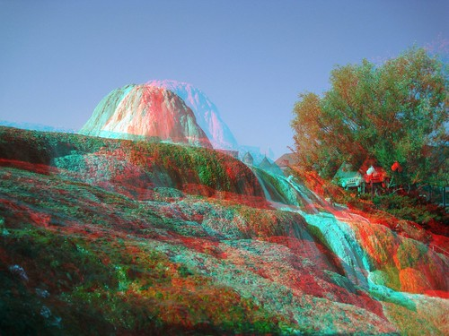 morning usa reflection water reflections 3d rocks unitedstates anaglyph steam resort formation american springs co waters sulfur depth redblue 3dglasses pagosa americansouthwest 3dimensional mirrorimages 3dimages anaglyph3d springsresort pagosaspringssunrise sulfurformation