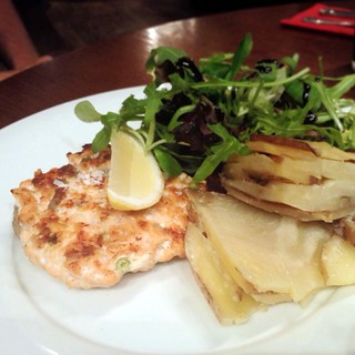e.'s fresh salmon and potatoes | by Texarchivist