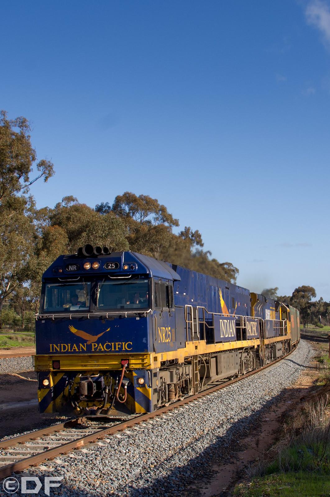 Blue skies, bluer loco by DFC501