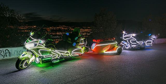 Psicodélicos o el culto a lo hortera - Strange motobikes