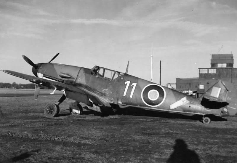 Messerschmitt Bf109 в служба на RAF