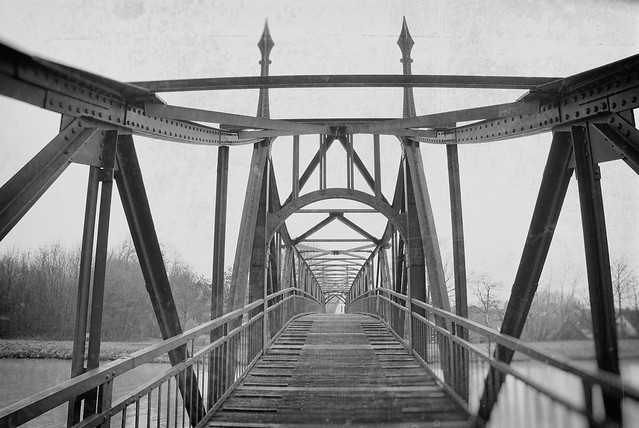 "Bridge / Brücke ""Bevergerner Steg"""