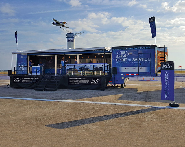 EAA's Spirit of Aviation Mobile Experience Trailer