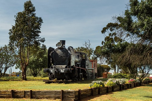 Retired steam train - Wycheproof | by smjbk
