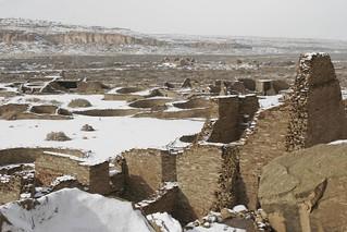 Pueblo Bonito in Winter