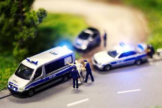 Miniatur Wunderland: Polizeikontrolle | by kevin.hackert