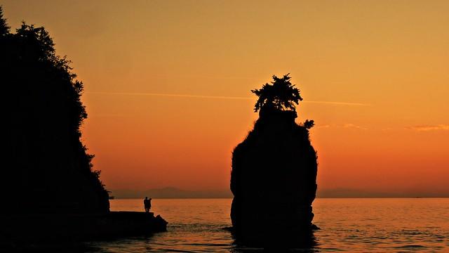Siwash Rock Sunset
