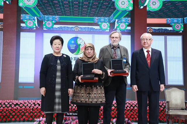 KOREA-WorldSummit-2017-02-03-Sunhak Peace Prize Awarded at World Summit