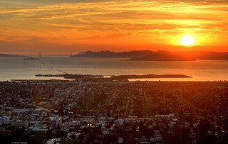 Berkeley Sunset | by W. Tipton