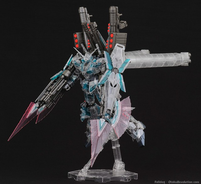 MG Clear Full Armor Unicorn - Snap Fit 8