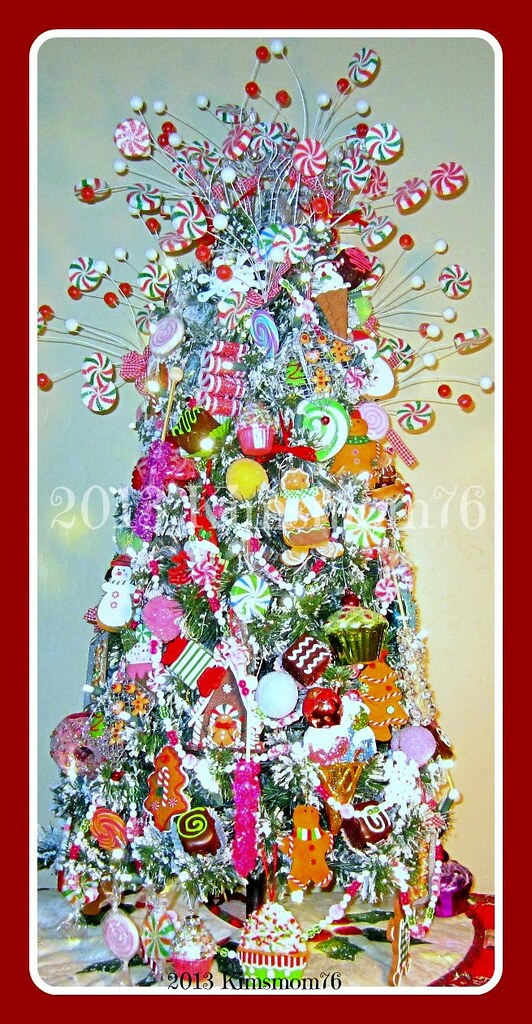 Candy Themed Christmas Decorations.Candyland Themed Christmas Tree I Finally Collected Enough