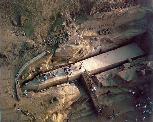 archdrude: Unfinished obelisk ~ Aswan, Qism Aswan, Aswan,...