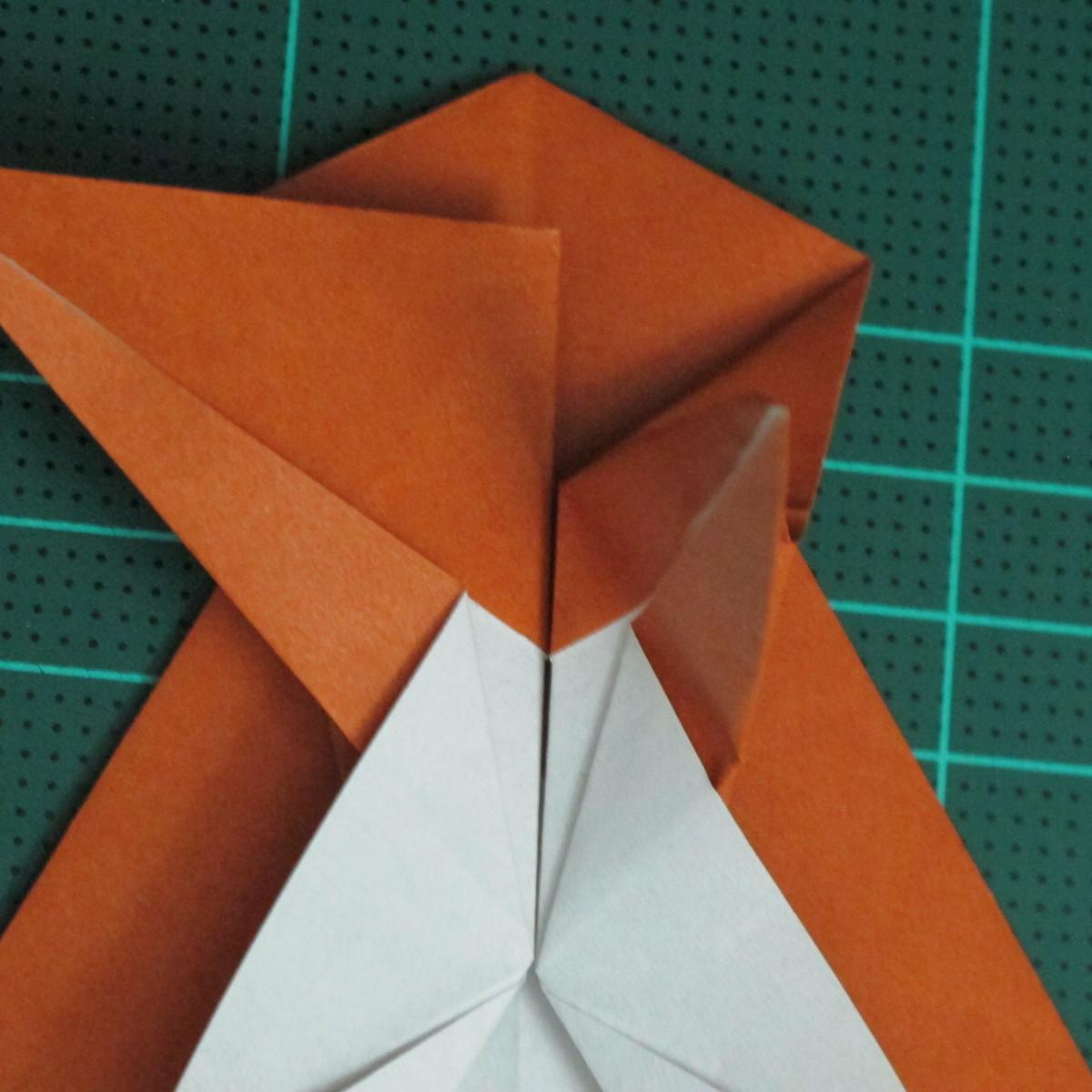วิธีการพับกระดาษเป็นรูปกบ (แบบโคลัมเบี้ยน) (Origami Frog) 030