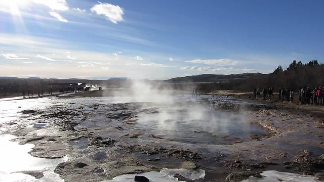 Strokkur (Litli Geysir), Haukadalur Geothermal Area, Bláskógabyggð
